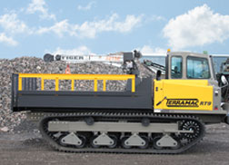 New Terramac® RT9 with Crane
