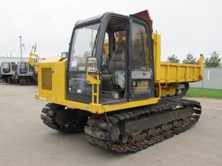 komatsu cd60 rotating crawler carrier unit
