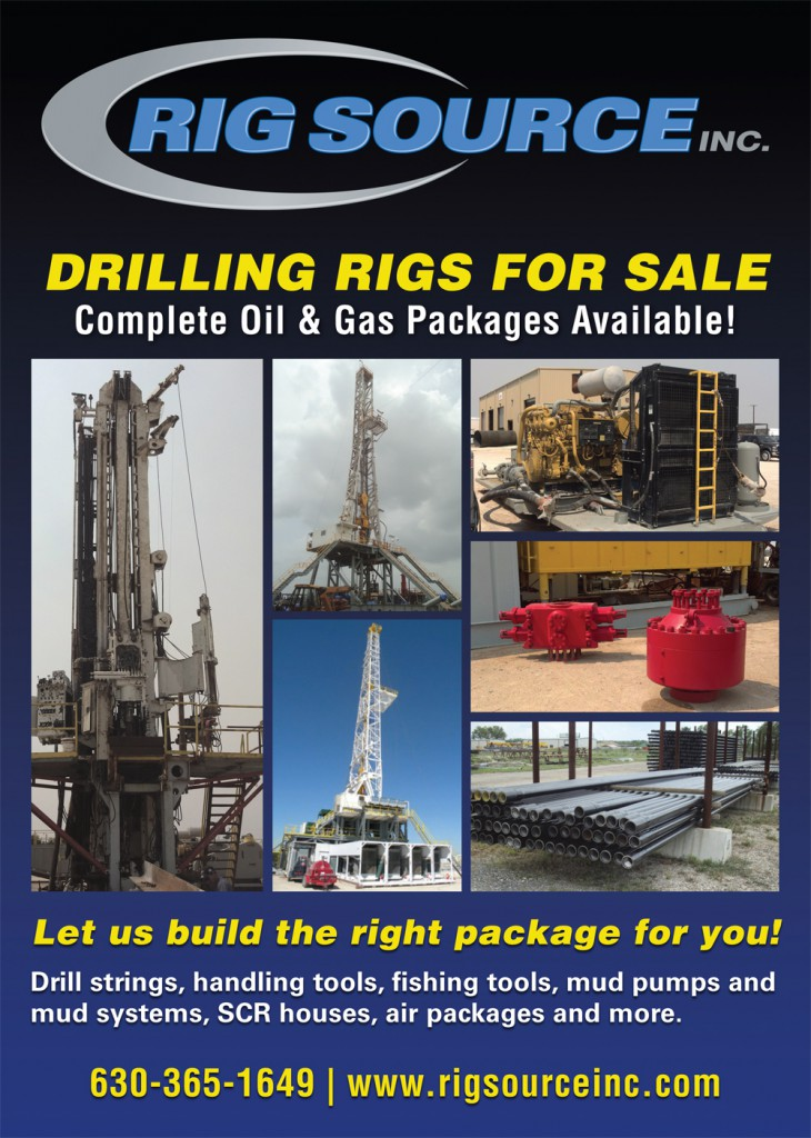 Oil and Gas Drilling Rigs Available for Sale
