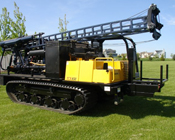 Drill Rig Rentals: Diedrich D-50 Track Mounted Drill Rig