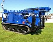 Drill Rig Rentals: Diedrich D-120 Track-Mounted Drill Rig