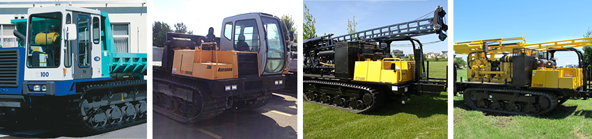 various drill rig rental equipment