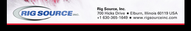 Rig Source Contact Information